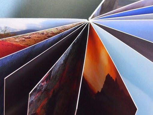 Fotoportfolio als Flatbook - Buchbinderei Papierhandwerk