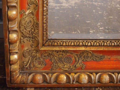Antikrahmen bei Spiegel - Einrahmungen Papierhandwerk