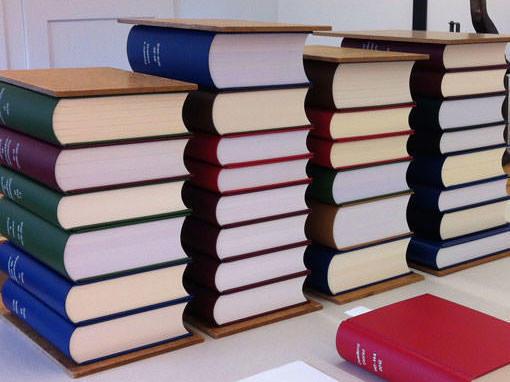 Bibliothekseinbände - Buchbinderei Papierhandwerk