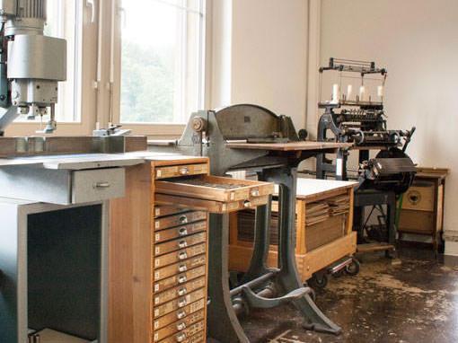 Buchbinderei Papierhandwerk