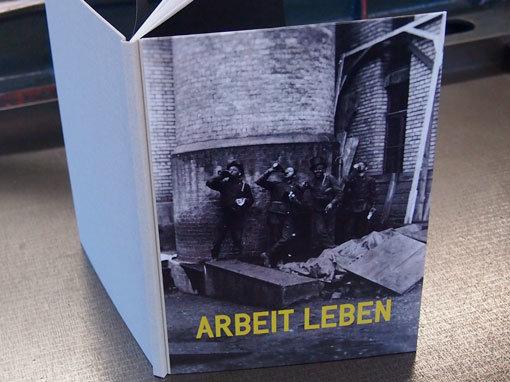 Diplomarbeit als Hardcover mit bedrucktem Vorderdeckel- Buchbinderei Papierhandwerk
