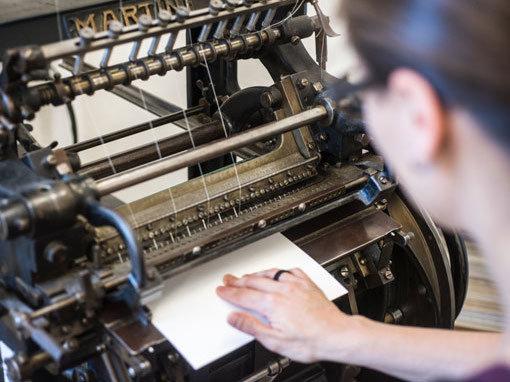Fadenheften - Buchbinderei Papierhandwerk