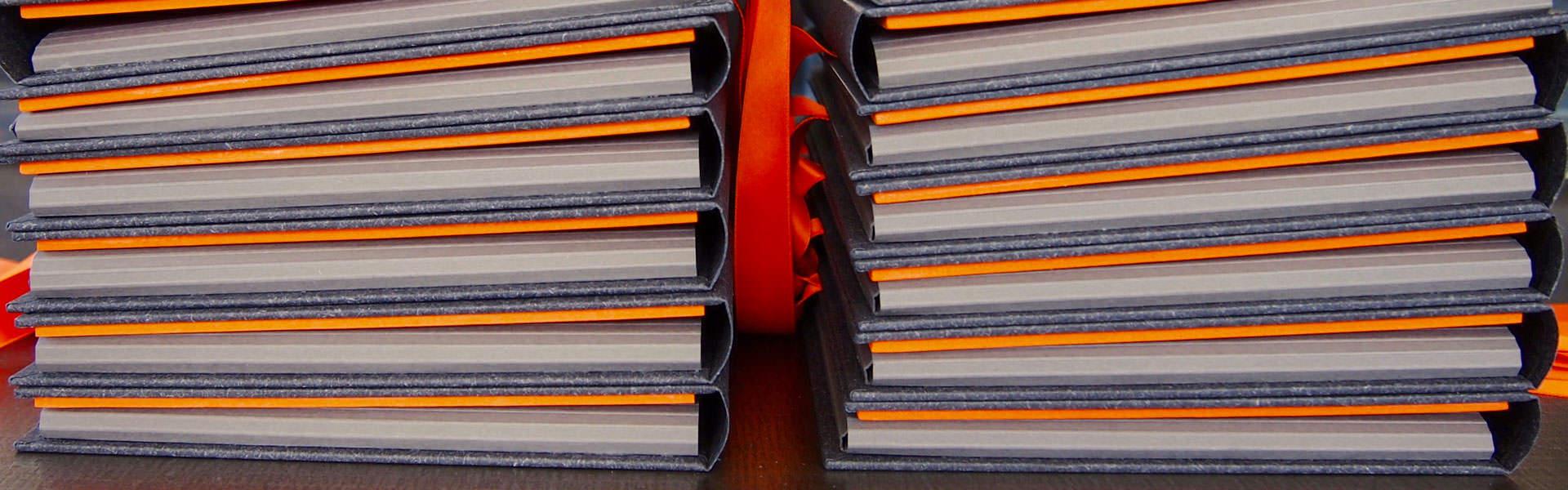 Mappen und Ordner - Buchbinderei Papierhandwerk