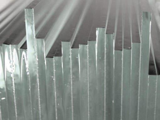 Verschiedene Glasarten - Einrahmungen Papierhandwerk