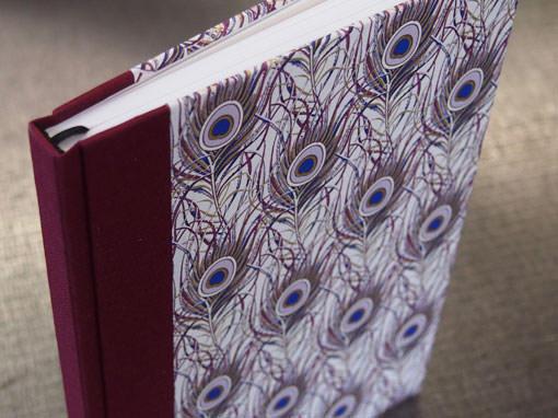 Einband in Halbgewebe - Buchbinderei Papierhandwerk