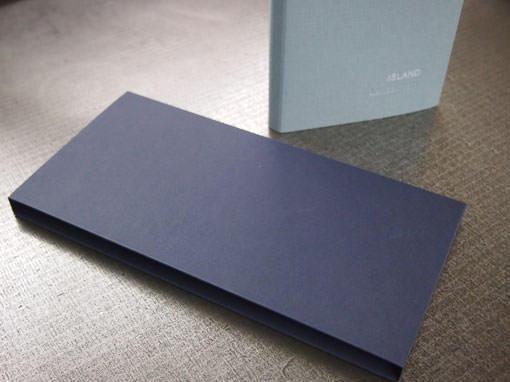Einfacher Schuber zu einem Portfolio - Buchbinderei Papierhandwerk