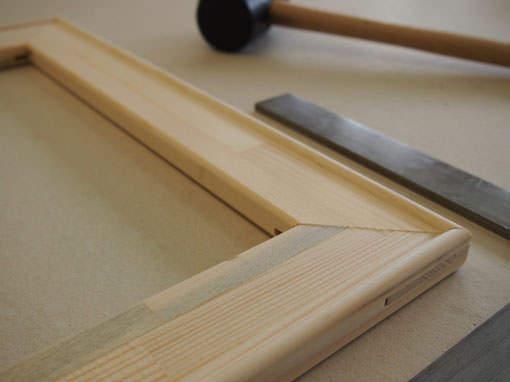 Keilrahmen - Einrahmungen Papierhandwerk