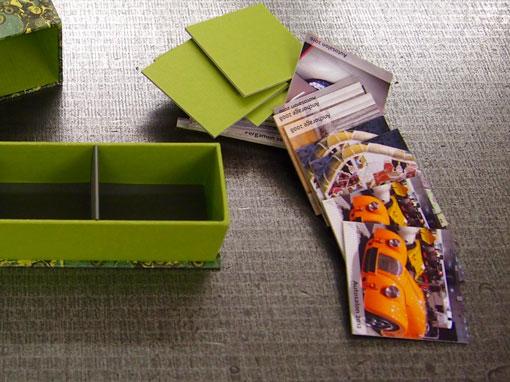 Memory - Kartonage Papierhandwerk