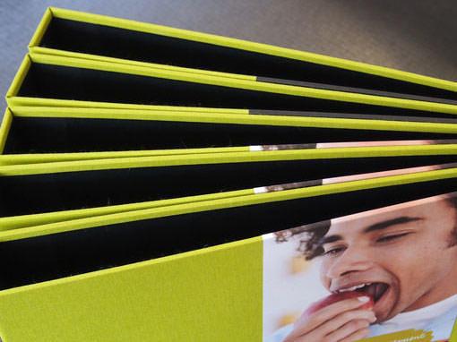 Ordener als Werbeträger - Buchbinderei Papierhandwerk