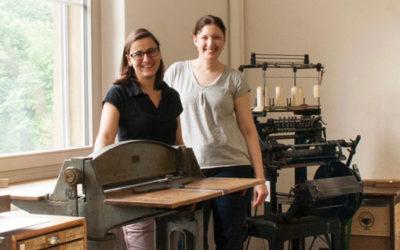 Papyrus Schweiz zu Besuch in unserem Atelier