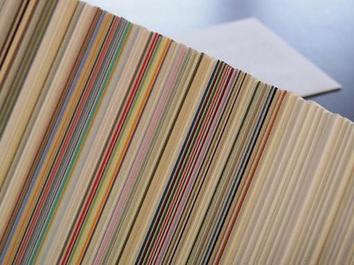 Passepartoutkartons als Hintergrund - Einrahmungen Papierhandwerk