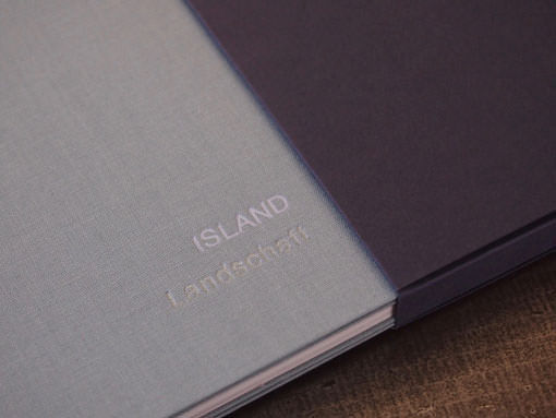 Fotoportfolio geprägt - Buchbinderei Papierhandwerk