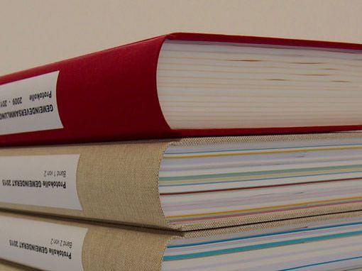Gemeinderats Protokolle - Buchbinderei Papierhandwerk