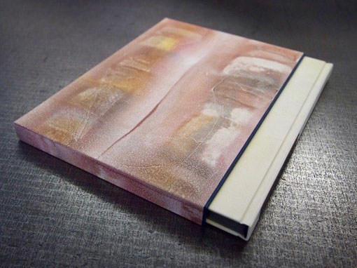 Schuber zu einem Hlabpergamentband - Buchbinderei Papierhandwerk