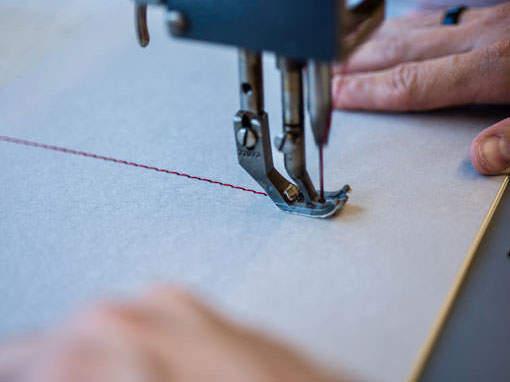 Steppstichheftung - Buchbinderei Papierhandwerk