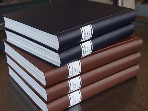 Zeitschriftenbände für Bibliotheken - Buchbinderei Papierhandwerk