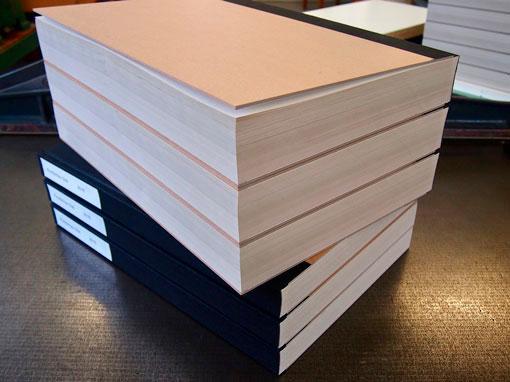 Zeitungsband - Buchbinderei Papierhandwerk