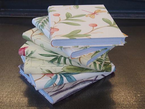 Blumenbücher - Buchbinderei Papierhandwerk