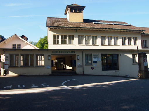 Oederlinareal - Buchbinderei Papierhandwerk
