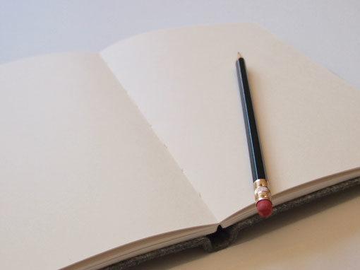 Buch mit Filzeinband - Shop - Buchbinderei Papierhandwerk