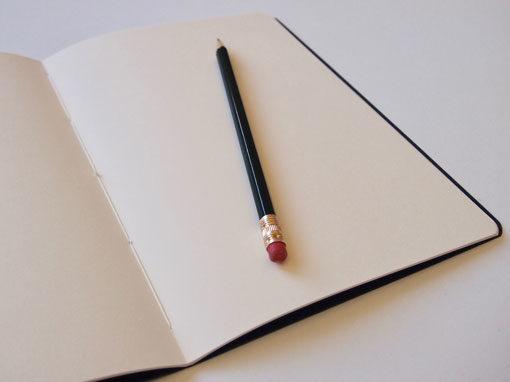 Heft mit Fadenknotenheftung - Shop - Buchbinderei Papierhandwerk