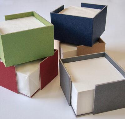 Zettelbox - Shop - Buchbinderei Papierhandwerk