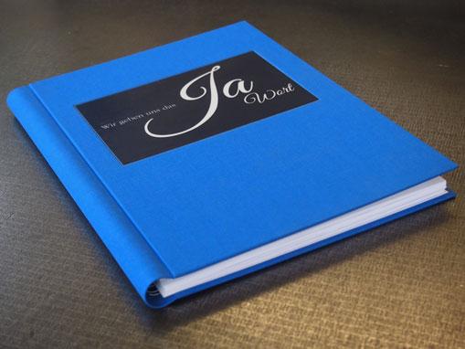 Hochzeitsbuch - Buchbinderei Papierhandwerk