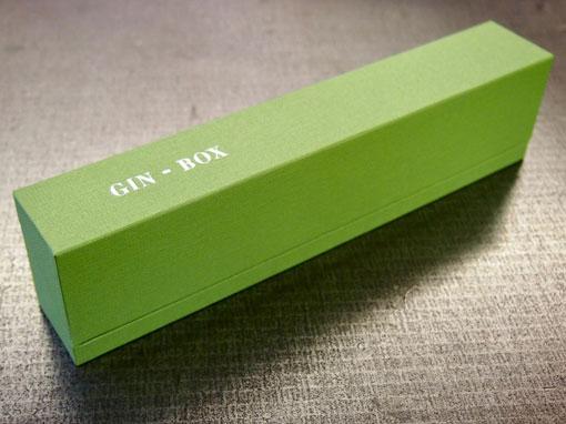 Gin-Box - Buchbinderei Papierhandwerk