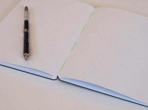 Sichtbare Fadenheftung - Shop - Buchbinderei Papierhandwerk